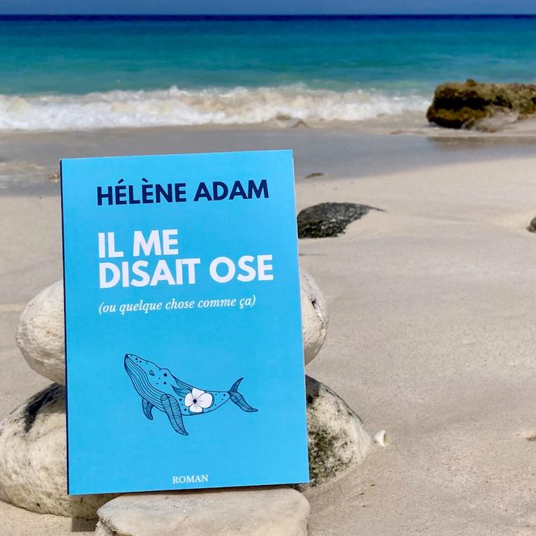 Le roman Il me disait ose (ou quelque chose comme ça) sur une plage